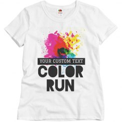 Customizable Color Run Designs
