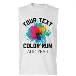 Customizable Race Color Run Design