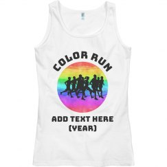Easy Customizable Color Run Group