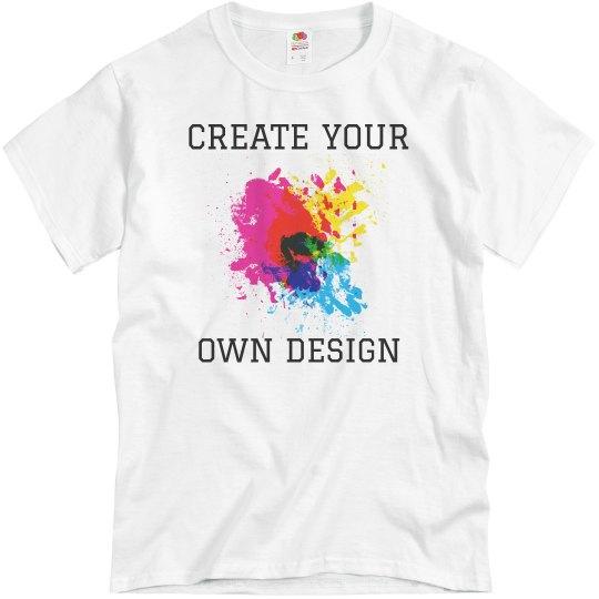 2d264dc84 Create Your Own Design Color Run Unisex Basic Promo T-Shirt