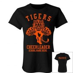 Tigers Cheerleader w/ Bk