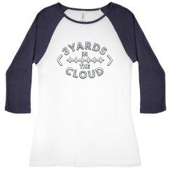 3 Yards in the Cloud women's tee