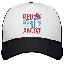 Red, White, Booze 4th Of July