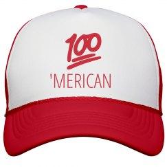 100 Emoji American