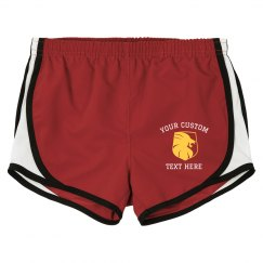 Personalized Lion School Shorts