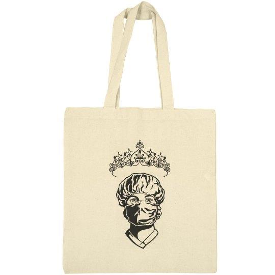 Princess Nurse Tote Canvas Bargain Tote Bag