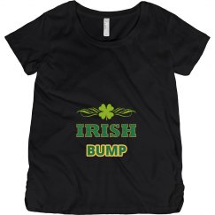 Funny Irish Bump St Patricks Maternity Shirt