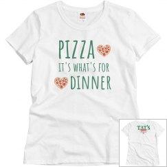 Pizza Dinner grey