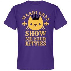 Kitties For Mardi Gras