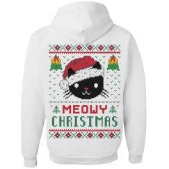 Meowy Christmas Hoodie