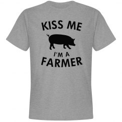 Kiss me I'm a pig farmer