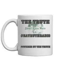 Powered By Truth Smaller Ceramic Coffee Mug