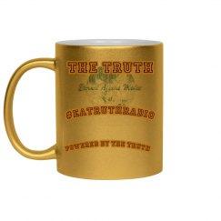 Powered By Truth Metallic Coffee Mug