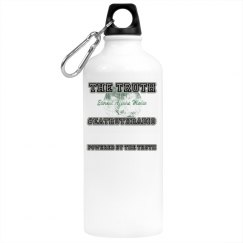 """""""Powered by Truth"""" BPA Free - Aluminum Drinkware"""