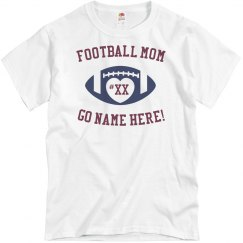 Create your own Football Mom Tee
