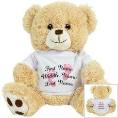 Baby Bear Announcement