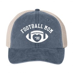 Custom Snap Back Football Mom