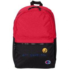 'Get Sherlock' glitter backpack