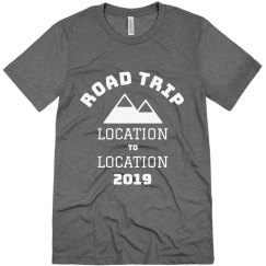 Custom Road Trip Personalized Vacay