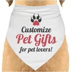 Pet Gifts for Pet Lovers