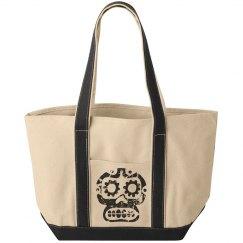 Distressed Skull Bag