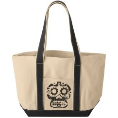 Distressed Skull Bag