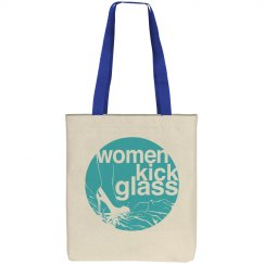 Women Kick Glass Tote