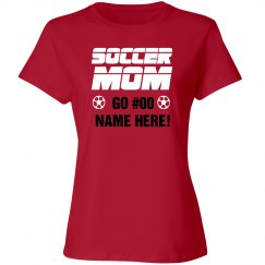 Sports Show Soccer Mom Tee