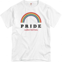 Customizable Gay Pride Group Tees