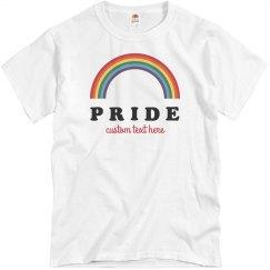 Customizable Gay Pride Group Tees