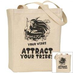 Native American Tribal Tote Bag