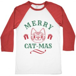 Red & Green Merry Cat-Mas