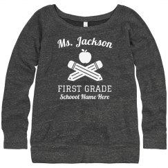 Back to School Teacher's Sweater