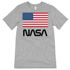 NASA USA American Flag Patriot