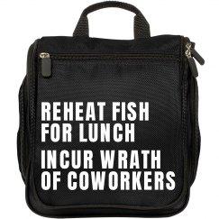 Microwaving Fish At Work
