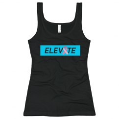 Elevate Bella Tank top - Cancer Month