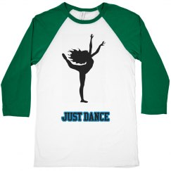 Just Dance Crop Top Long Sleeve