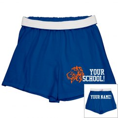 School Shorts w/ Back
