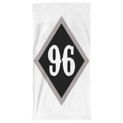 Diamond 96 beach towel