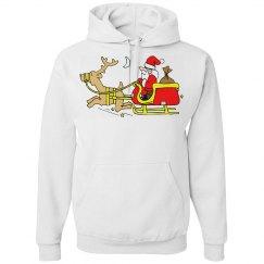 Santa on His Way