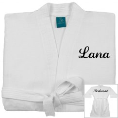 Custom Bridesmaid Spa Robe