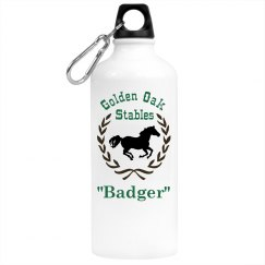 Horse Riding Water Bottle