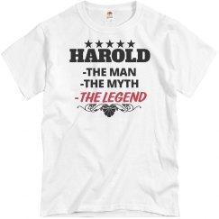 Harold - The Man!