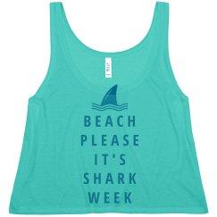 Beach Please Shark Week