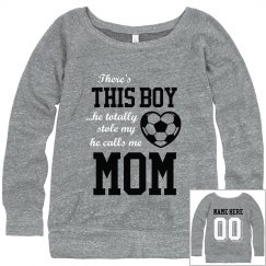 Soccer Boy's Biggest Fan Sweatshirt