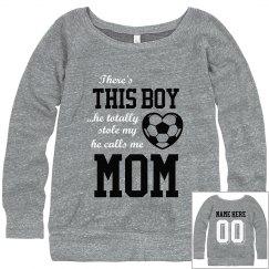 Soccer Boy's Biggest Fan Sweatshirt