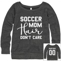Soccer Mom Hair Sweatshirt