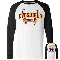 Unisex Evoshield ragland shirt