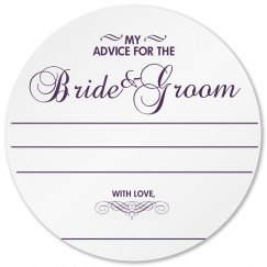 Wedding Advice Coaster
