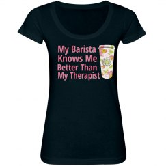 Coffee Therapy Tee